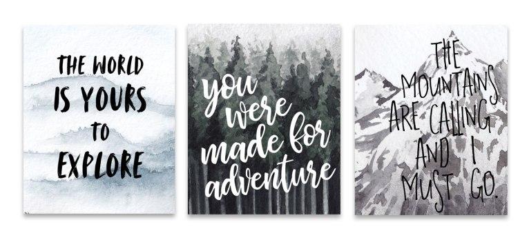 adventurewallart-wildlygrey