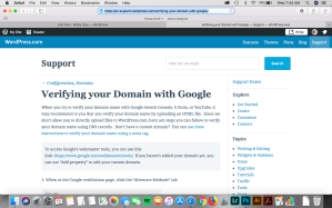 https://en.support.wordpress.com/verifying-your-domain-with-google/