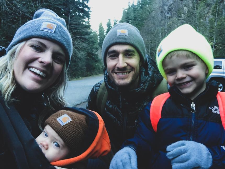 HikingWithKids-family